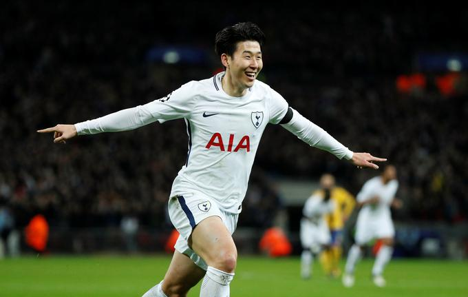 Tottenham, from the second half of the year, from the 13th to the next, the son of Heung Mina.