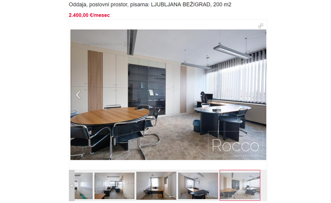 Comparing other business photos with those published in the 4th pillar on Facebook shows that this is really the same real estate.
