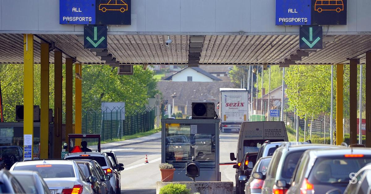 Border Crossings To Avoid Traffic Jams When Crossing Over From Slovenia To Croatia Siol Net