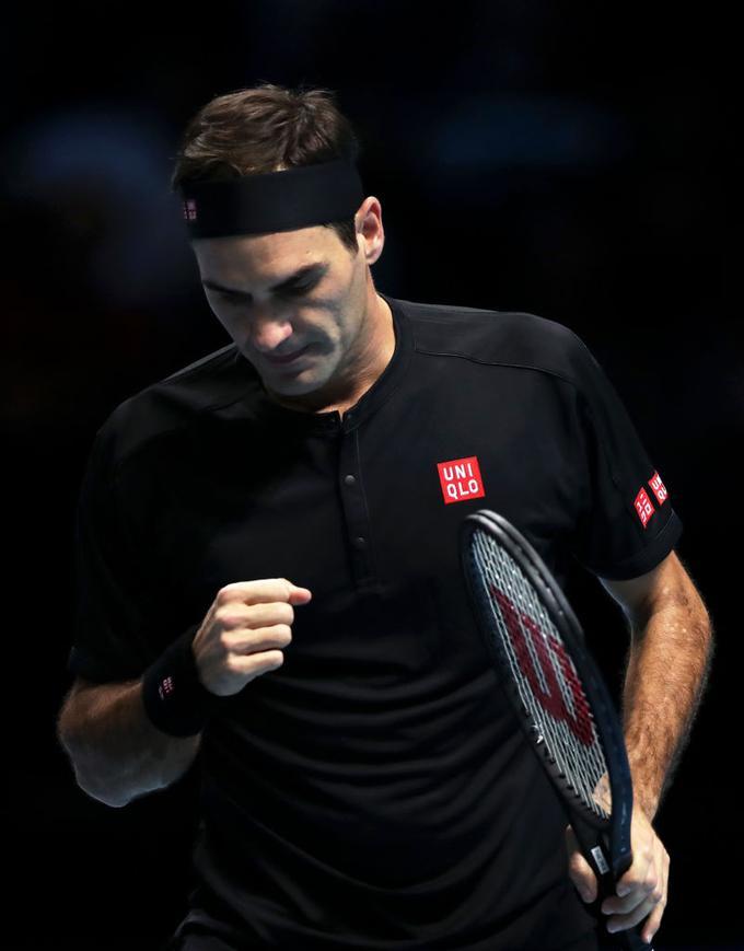 Roger Federer je letošnjo sezono končal na tretjem mestu.