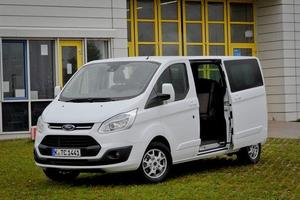 Ford transit in tourneo custom