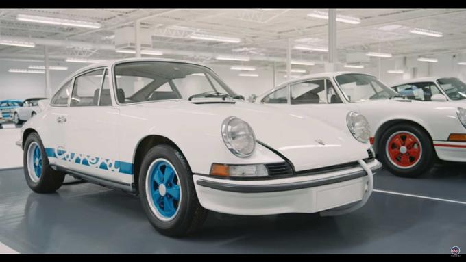 White collection Porsche