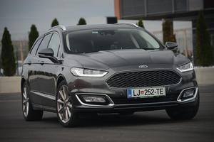 Test: ford mondeo 2,0 TDCi vignale