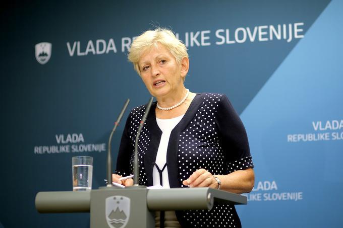 Irena Majcen, ministrica za okolje