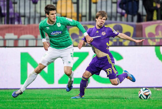 Damien Bohr on Friday raised his rivalry with the Slovenian eternal Derby. He fought against Nemanja Mitrovich, beat him 2-0 and scored a goal.