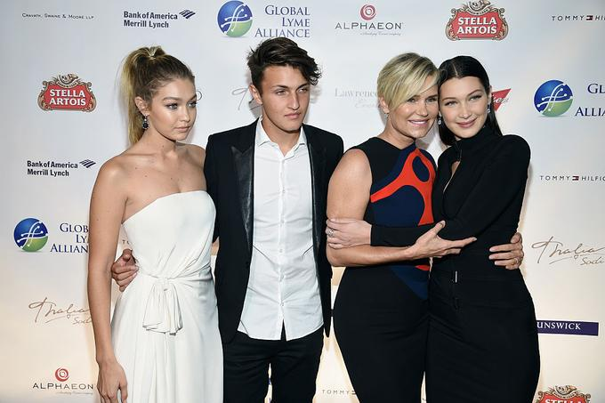 Gigi, Amwar in Bella so otroci Yolande Hadid, sicer zvezdnice šova The Real Housewives of Beverly Hills.