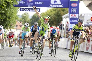 Winner in Novo mesto Viviani, overall winner Machado