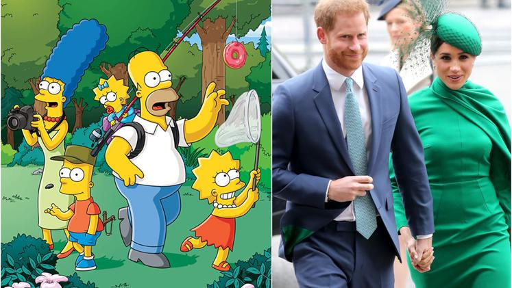 Simpsonovi Harry Meghan