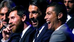 Buffon Ronaldo Messi