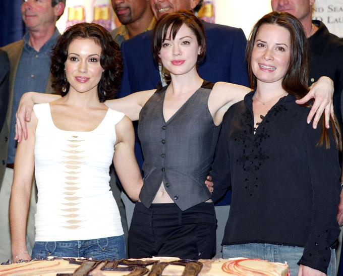 Alyssa Milano, Rose McGowan in Holly Marie Combs so pet let skupaj igrale v nanizanki Čarovnice.