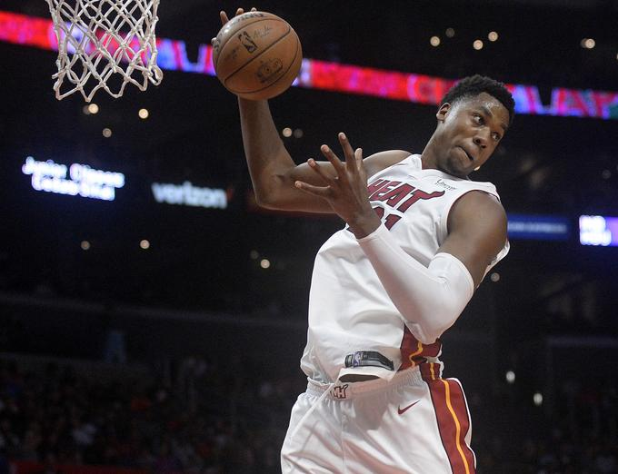 Hassan Whiteside ran out of just one blockage to hit the triple double.