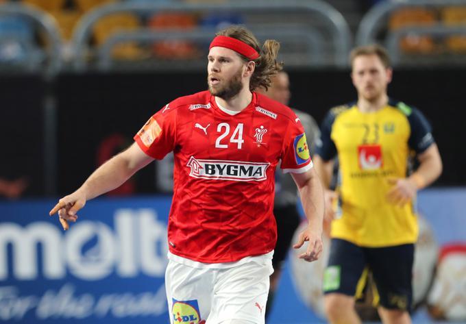 Mikkel Hansen je bil s sedmimi goli najboljši strelec finala.