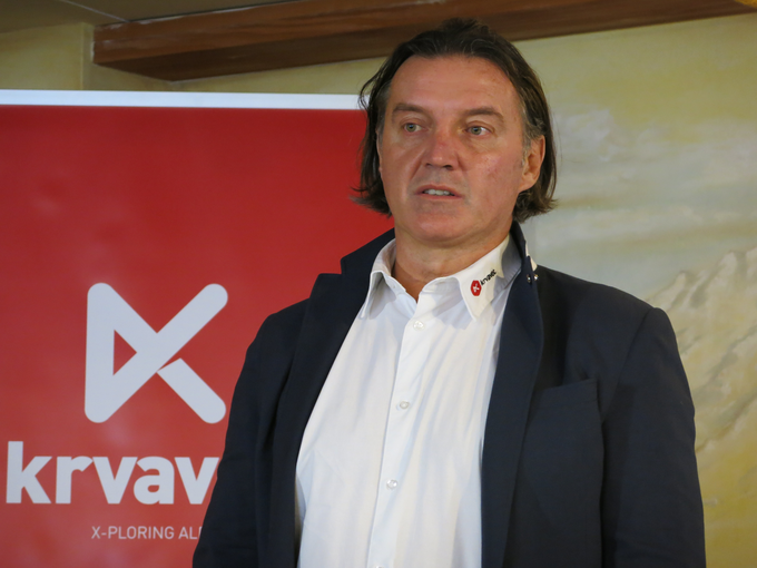 Janez Janša, the new director of the RTC Krvavec denies reports zapertju line Kriska mountain.