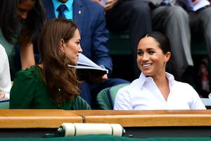 Sta Meghan in Kate v Wimbledonu zakopali bojno sekiro? #foto #video