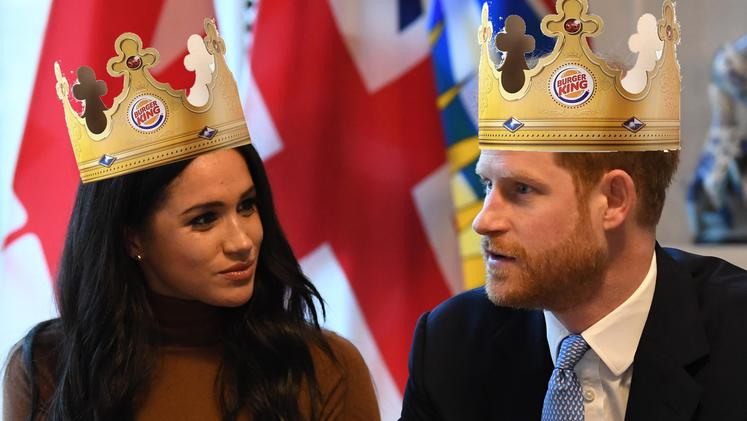 Meghan Harry Burger King