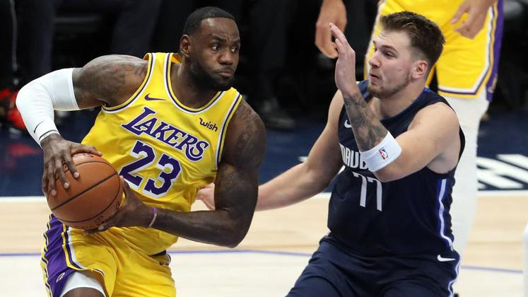 Luka Dončić Lebron James