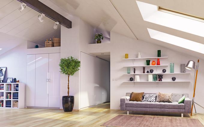 Uredite si stanovanje s pomo jo sodobne tehnologije for Arredamento per sottotetto
