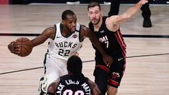 Khris Middleton  in Goran Dragić