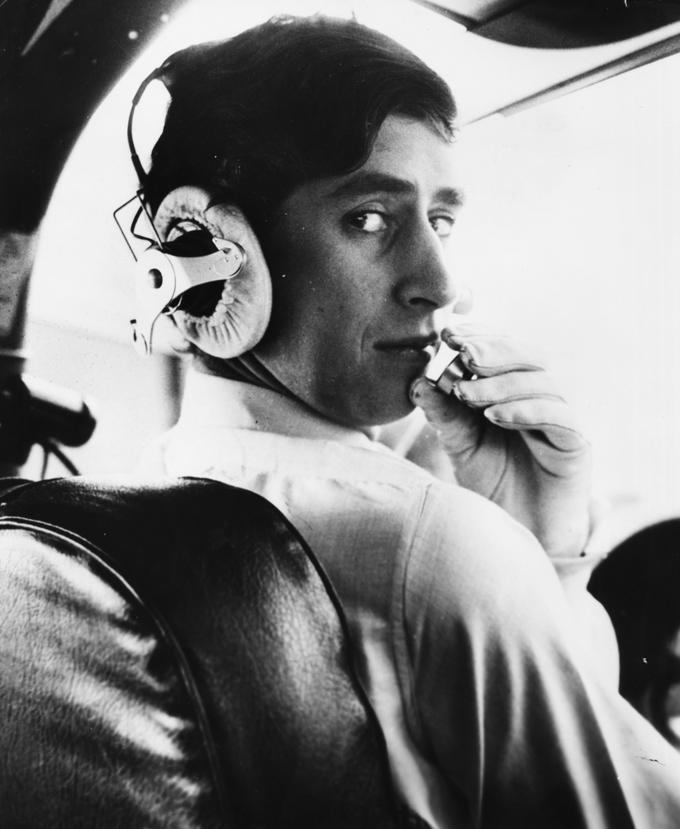 Prince Charles at age 21