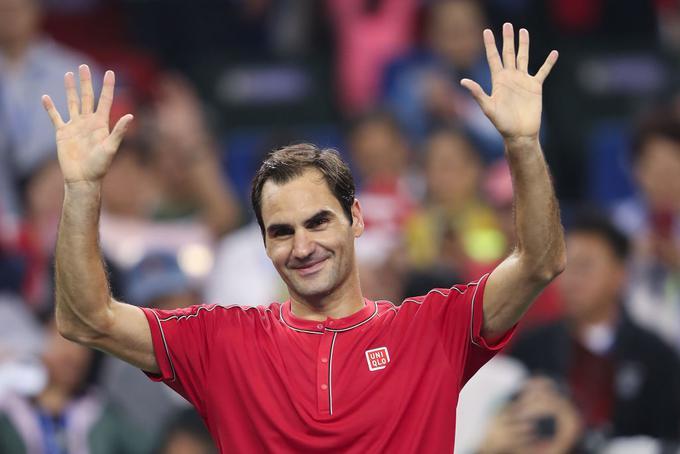 Roger Federer je napredoval v tretji krog turnirja v Šanghaju.