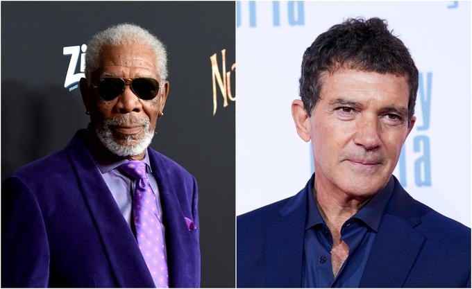 V Trst bosta prišla tudi Morgan Freeman in Antonio Banderas.