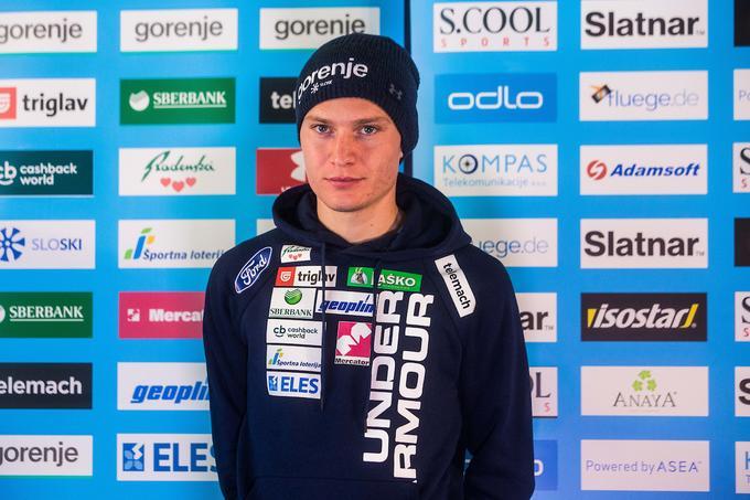 Anže Lanišek is satisfied with consistency.
