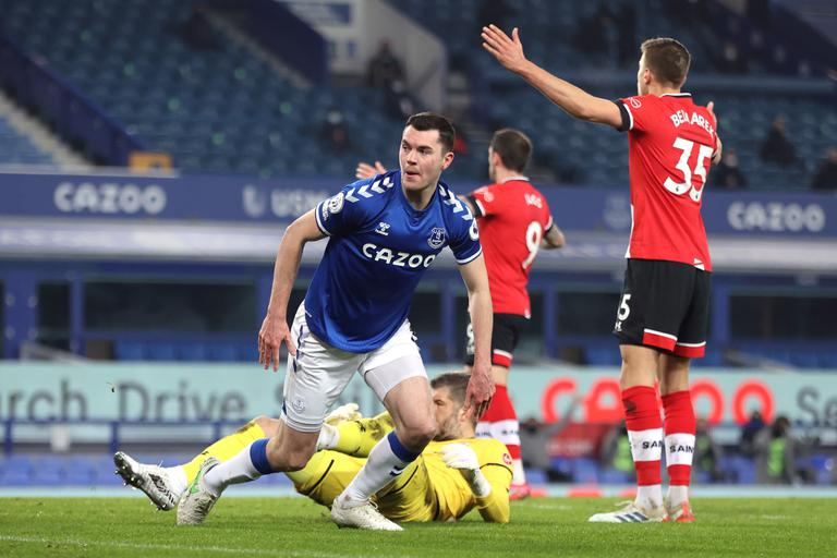 Everton, Michael Keane