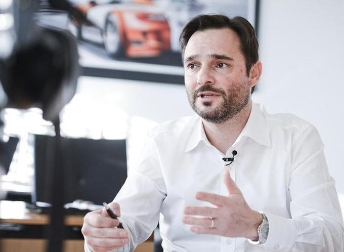 Danilo Ferjančič, director of Porsche Slovenia.