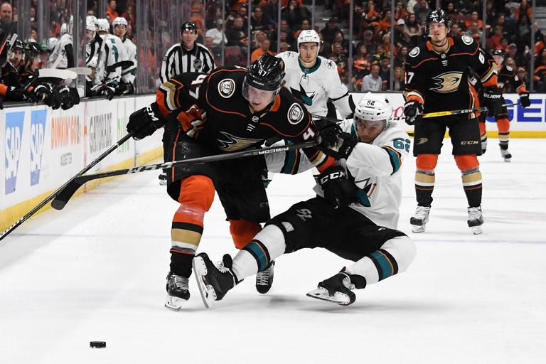 Anaheim Ducks San Jose Sharks