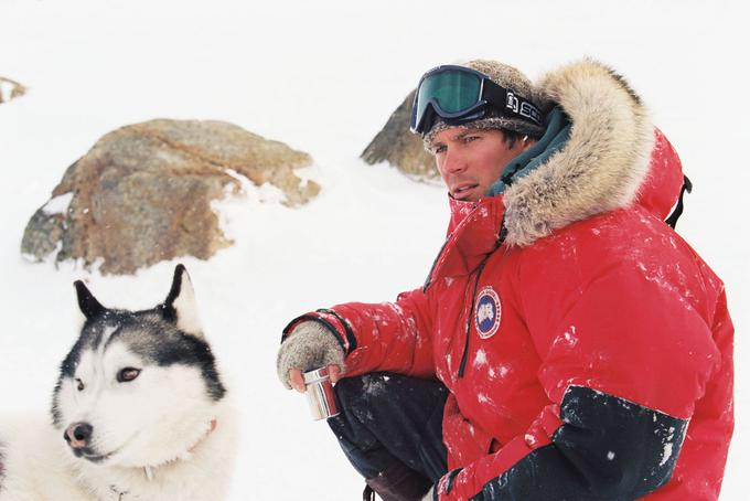 Paul Walker v filmu Osem ujetih (Eight Below).