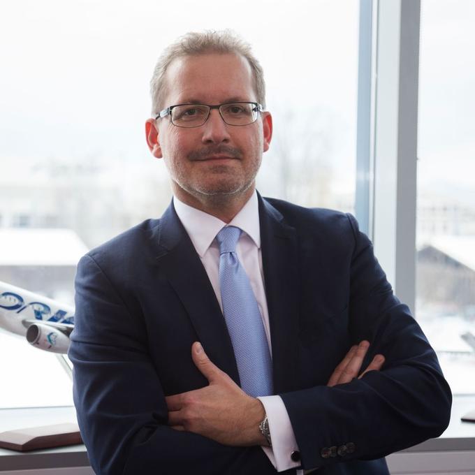 Holger Kowarsch, Chief Executive Officer of Adria Airways