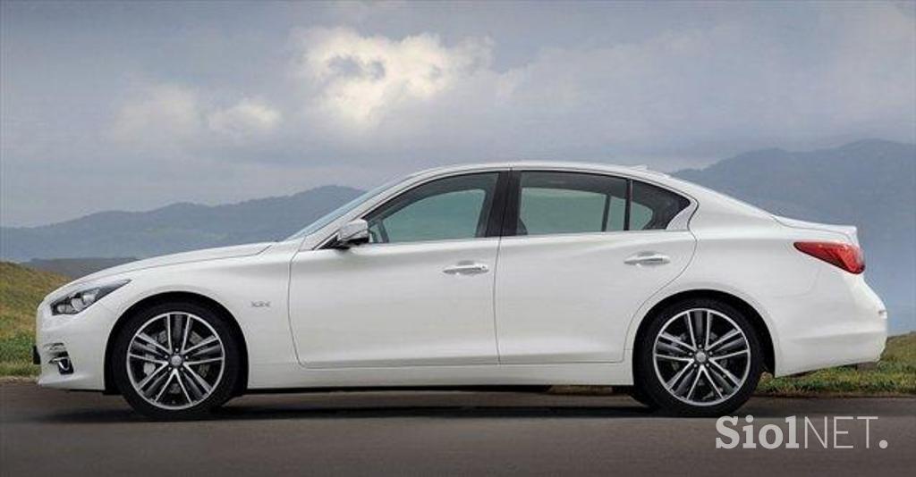 Galerija: Infiniti Q50 – Mercedesov dizelski motor in ...