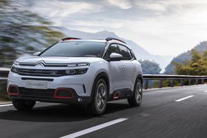 To je novi Citroënov športni terenec: C5 aircross #video