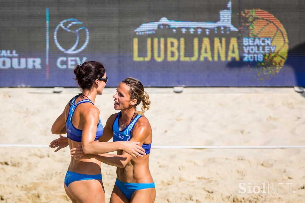 Beach volley Ljubljana 2018