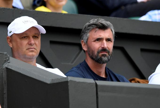 Goran Ivanišević je imel že razlog več, zakaj ga ni bilo v Wimbledonu.