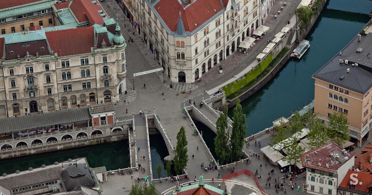 Ljubljana prestolnica bitcoina: London in New York se lahko skrijeta