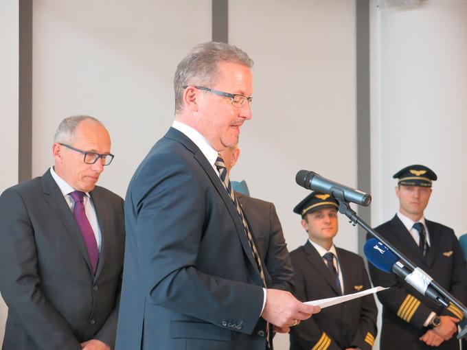 Holger Kowarsch, director of Adria Airways