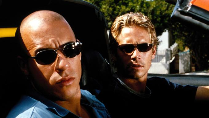 Vin Diesel in Paul Walker.