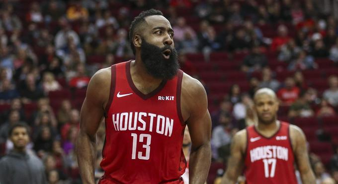 Harden chased the first season, winning 36 points for the best NBA shooter.