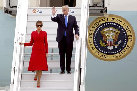Melania in Donald Trump zdaj tudi v TV-seriji