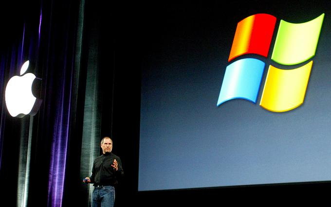 For years, Microsoft and Apple have competed in the field of personal computing, where Microsoft is running Microsoft on the Windows operating system.