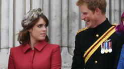 princesa Eugenie, princ Harry