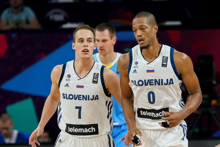 Klemen Prepelič in Anthony Randolph
