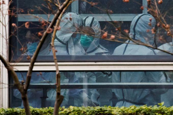 Strokovnjaki WHO so med nedavnim obiskom na Kitajskem izključili možnost, da bi novi koronavirus ušel iz prostorov inštituta za virologijo v Wuhanu.