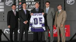 Anže Kopitar LA Kings 2005