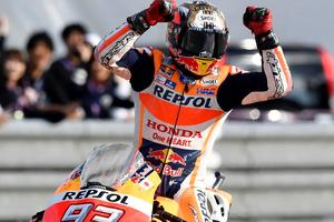 Marquez in Honda z roko v roki do leta 2020