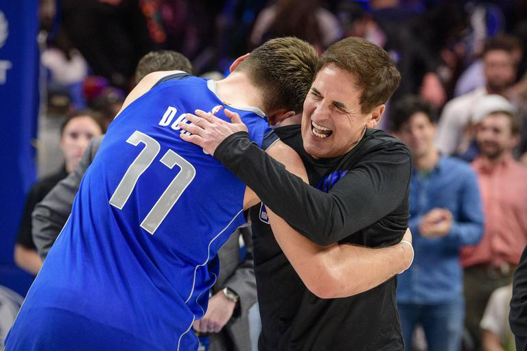 Mark Cuban, Luka Dončić