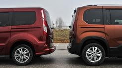 Ford tourneo courier in peugeot rifter