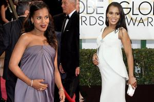 Kerry Washington rodila deklico