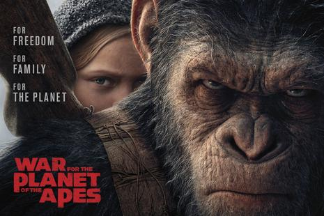 Vojna za Planet opic (War for the Planet of the Apes)